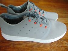 2eb31a855fdd3 new womens under armour charged 24 7 low suede shoes size 10 gray white