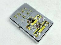 "110 of 200! ZIPPO 1996 Limited Edition JAMES RIZZI Artist Art ""Taxi"" Lighter"