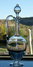 """Awesome HTF Baccarat Crystal Carafe/Decanter 13"""" Tall  (#10)"""