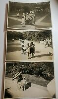 Vintage October 1947 Ueno Park Tokyo Japan Original Photos Japanese Children
