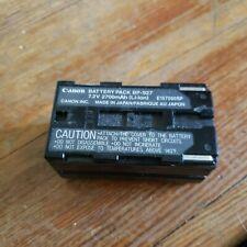 Canon camera camcorder battery BP-927