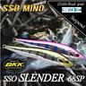 Leurre poisson nageur suspending SSO MINO SSO Slender PAYO 68mm truite
