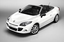 Renault Megane 3 CC Cabrio. CARBON FIBRE EFFECT FRONT&REAR BADGE COVER- SET