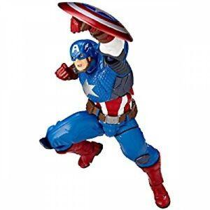 KAIYODO MARVEL Revoltech Complex Captain America No.007 Japan NEW Figure