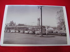 1950 'S USED CAR LOT CHEVY FORD MERC BORGWARDS !  BIG  11 X 17  PHOTO  PICTURE