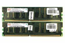 Hynix PC3200U-30330 256MB DDR 400MHz CL3 HYMD532646CP6R-D43 PQ