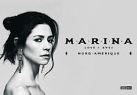 MARINA - Love + Fear - 2 tickets - Philadelphia - Sat 9/14/19 -*ORCHESTRA SEATS*