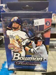 2020 Bowman Platinum Hanger Box Baseball Tatis Rc Auto Ect Qty