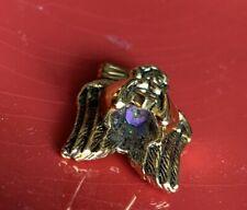 Angel Gazing Ball Secret Purple Stone Brooch Pin UNIQUE ❤️tb5m