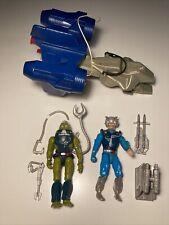he-man new adventures MOTU BOLAJET, Flipshot, Kalamarr Slush Head 90% Complete