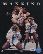 Mick Foley Mankind WWF Signed Autograph 8 x 10 Photo PSA DNA