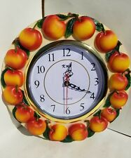 Peach wall clock *New*