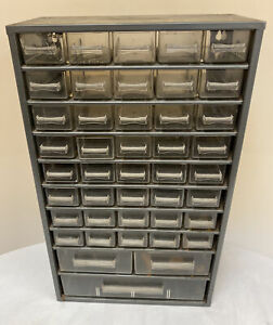 Vintage 43 Draw Metal Storage Cabinet (D5)