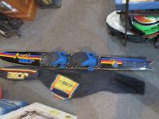 "65"" Vintage Jobe Carbon Honeycomb World Record Setter Slalom Water Ski & Bag"