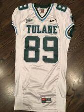 Game Worn Used Nike Tulane Green Wave Football Jersey #89 Size L