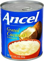 Ancel Grated Coconut, Coco Rayado, in syrup 2 lbs