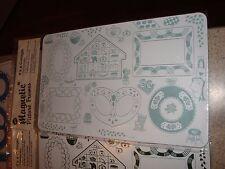 Vintage Collage Magnetic Picture Frame School Locker OR Refrigerator New