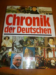 Buch Chronik der Deutschen gut erhalten