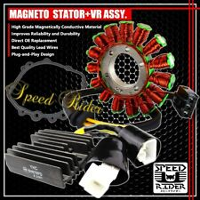 07-12 CBR 600RR 600 MAGNETO COIL STATOR+VOLTAGE REGULATOR RECTIFIER+GASKET ASSY