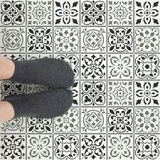 Mediterranean Mosaic Tile Stencil - Reusable Tile Stencils in Multiple Sizes