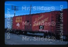 Original Slide Freight UP Union Pacific Friction Bearing 40'Box 910239 In 1985