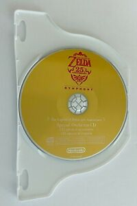 The Legend of Zelda 25th Anniversary Special Orchestra Music Soundtrack CD