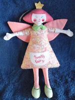 *1904a*  Tooth Fairy Doll - Kate Finn - pink - rare - 28cm