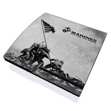 Sony PS3 Slim Console Skin - Flag Raise by US Marine Corps - DecalGirl Decal