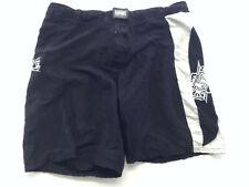 Mma Elite Large Black-White Drawstring Fight Shorts