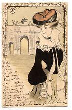 H.DRY.NANCéIENNE ART NOUVEAU.Edit J COUBé.NANCY.PORTE ROYALE HéRé. N°3