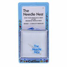 Collins Needle Nest Magnetic Needle Case