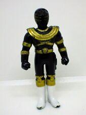 Figurine pvc vintage toys  mini figure power rangers 8cm noir Bandai 1995