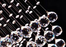 Modern Ceiling Ligh LED Crystal Spiral Pendant Lamp Luxury Chandelier