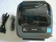 Zebra ZP505 THERMAL LABEL PRINTER LATEST VERSION ZP500