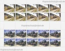 KOSOVO - 2007 EISENBAHN TRAINS RAILWAY 90-91 KLEINBOGEN **