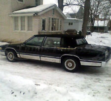 "1989-1990 Cadillac DeVille 4Dr Sedan Chrome Rocker Panel Trim Body Side FL 7"""