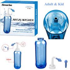 500ml Nasal Wash Neti Pot Nose Cleaner Cup Irrigator Saline Sinusitis Tool