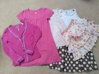 Bundle 5 x Girls 7-8 Years Joules Cardigan Dress Boden Skirt H&M Top Next Tunic