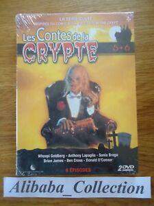 // NEUF COFFRET LOT DVD ** LES CONTES DE LA CRYPTE 5 6 SERIE TALES CRYPT
