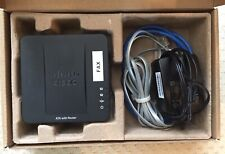 Cisco Spa122 2 Port VoIp Ip Sip Analog Adapter Router Gateway