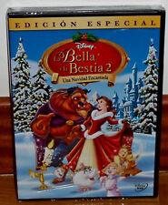 LA BELLA Y LA BESTIA 2 UNA NAVIDAD ENCANTADA DVD DISNEY NUEVO (SIN ABRIR) R2
