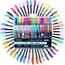 48 Colors Glitter Sketch Drawing Pen Marker Gel Pen Set Refill School Stationery