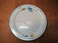 "Lenox USA Chinastone BUTTERCUPS ON BLUE Dinner Plate 10 3/4"" 1 ea   7 available"