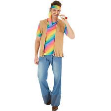 Herrenkostüm Hippie Peace Kostüm Männer Karneval Fasnacht Halloween 70er 60er