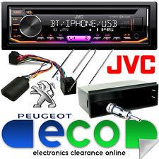 Peugeot 307 CC SW 2001-05 JVC Bluetooth CD MP3 USB Automóvil Estéreo Kit De Volante