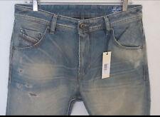Diesel Men Italian Jeans 31 W x 32 Krayver 827X Regular Slim Authentic New w Tag