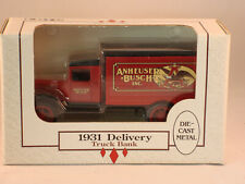 ERTL Diecast metal Anheuser-Busch 1931 Delivery Truck Bank (1990) NIB #7574