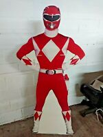 New Power Rangers Red Life Size Stand Up 5.7 Foot Nabisco 1995 Vintage Rare