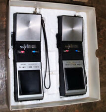 Master-Craft transistor transceiver radio Walkie talkies w/ box Rare WORKS