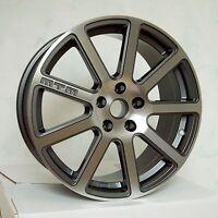 MTM Bimoto Felge 8x18 5x100 ET 35 Titan-Poliert Rad Alufelge Audi VW Seat Skoda
